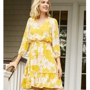 🆕{Adrianna Papell} Boho Floral Dress